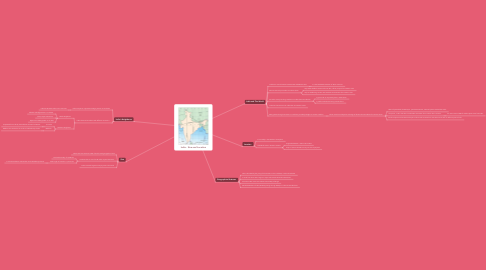 Mind Map: India - Size and Location
