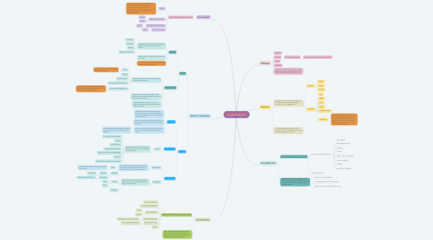 Mind Map: Cycle of Infection