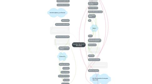 Mind Map: Kassidee Steve's OT Mind Map