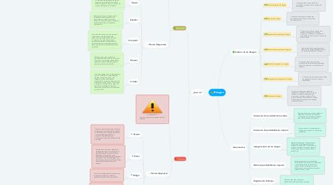 Mind Map: Riesgos