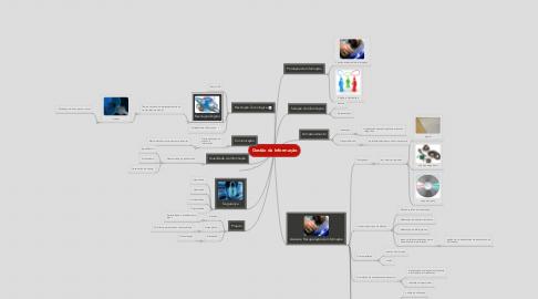 Mind Map: Gestão da Informação