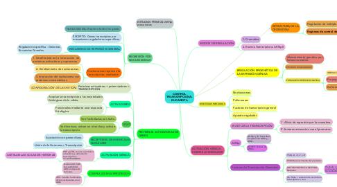 Mind Map: CONTROL TRANSCRIPCIONAL EUCARIOTA