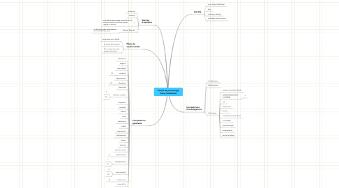 Mind Map: Feuille de personnage Henry Sutherland
