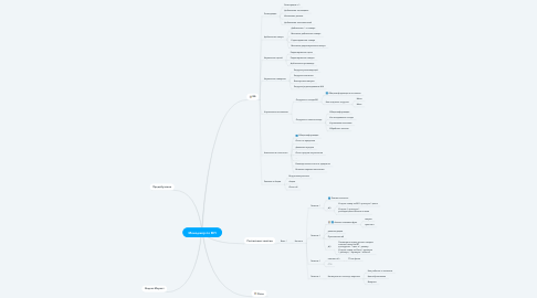 Mind Map: Менеджер по МП