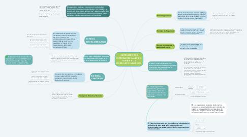 Mind Map: INSTRUMENTOS INTERNACIONALES EN MATERIA DE DERECHOS HUMANOS