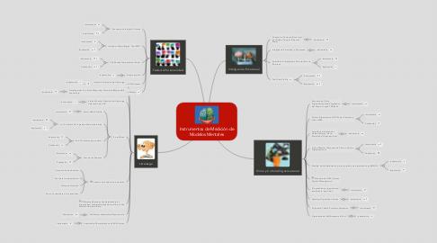 Mind Map: Instrumentos de Medición de Modelos Mentales