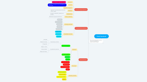 Mind Map: Texto funcional.