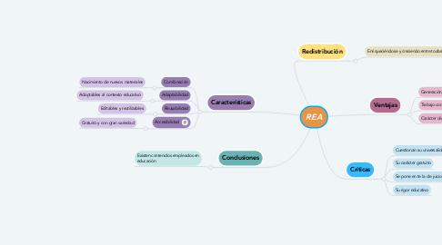 Mind Map: REA
