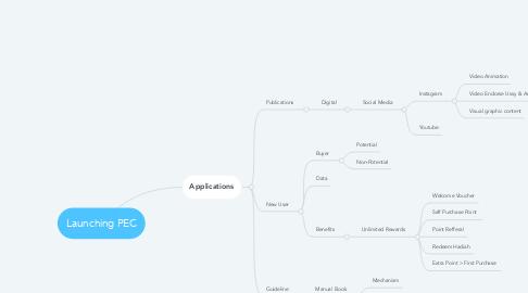 Mind Map: Launching PEC