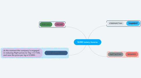 Mind Map: Space X