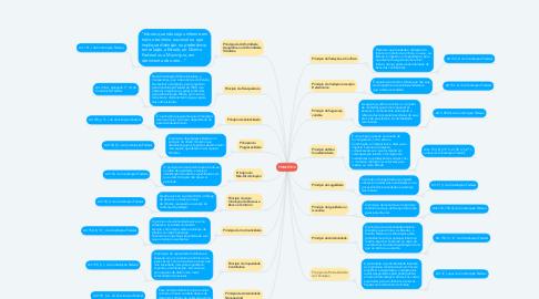 Mind Map: PRINCÍPIOS