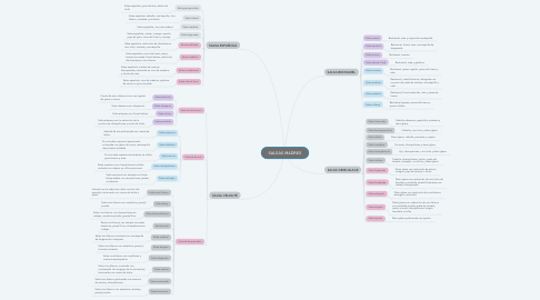 Mind Map: SALSAS MADRES