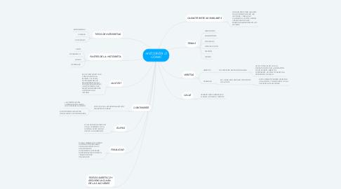 Mind Map: HISTORIETA O COMIC