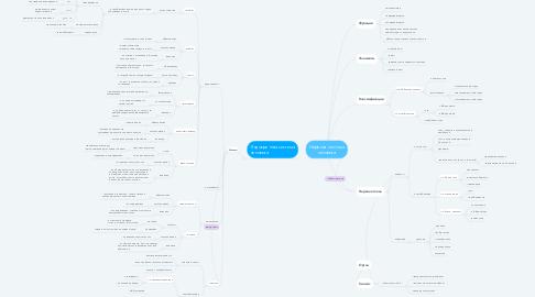 Mind Map: Нервная система человека
