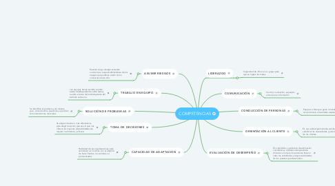 Mind Map: COMPETENCIAS