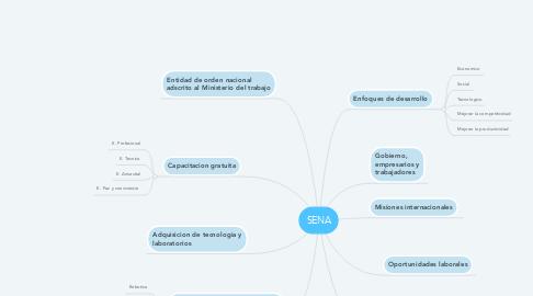 Mind Map: SENA
