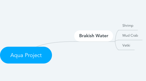 Mind Map: Aqua Project