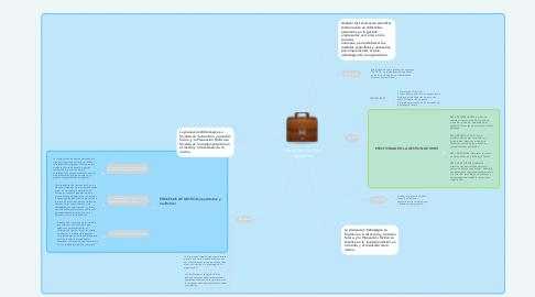 Mind Map: Planeación Táctica y Operativa