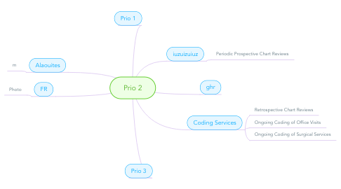 Mind Map: Prio 2