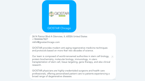 Mind Map: GIOSTAR Chicago