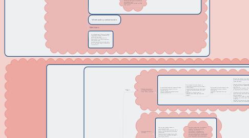 Mind Map: Auditorías de control interno y riesgo de control de la sección 404