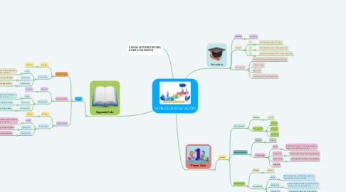 Mind Map: NIVELES DE EDUCACIÓN
