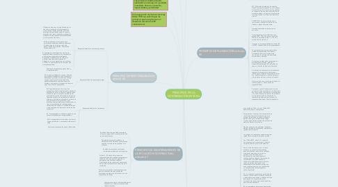 Mind Map: PRINCIPIOS EN LA CONTRATACIÓN ESTATAL