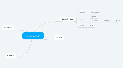Mind Map: MetroCarrier
