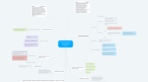 Mind Map: DIRECCION GENERAL CORPORINOQUIA SEDE CENTRAL YOPAL.