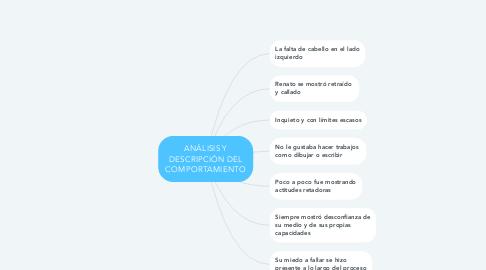 Mind Map: ANÁLISIS Y DESCRIPCIÓN DEL COMPORTAMIENTO