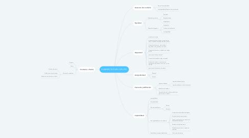 Mind Map: ELEMENTOS DEL DELITO