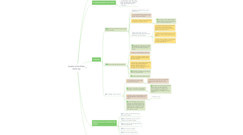 Mind Map: Anything You Want Summary