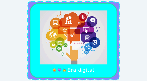 Mind Map: Era digital