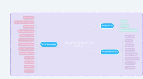 Mind Map: Esquema Curricular del MEVyT