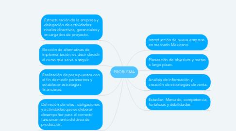 Mind Map: PROBLEMA