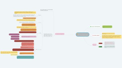 Mind Map: Valores fundamentais de uma comunidade política