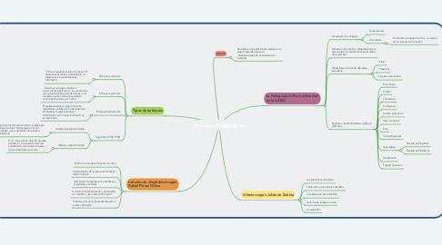 Mind Map: Enfoques Pedagógicos