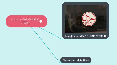 Mind Map: HaLaL MEAT ONLINE STORE
