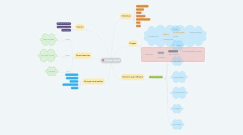 Mind Map: Choque cultural