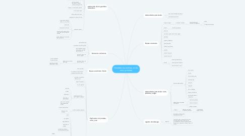 Mind Map: Genitales masculinos, recto, ano y próstata
