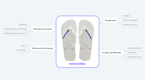 Mind Map: HAVAIANAS