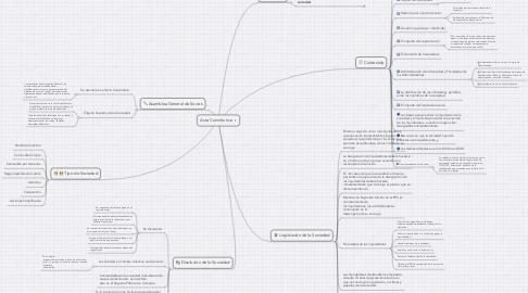 Mind Map: Acta Constitutiva
