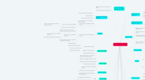 Mind Map: DEL TLCAN AL T-MEC