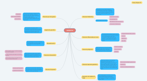 Mind Map: HERENCIA