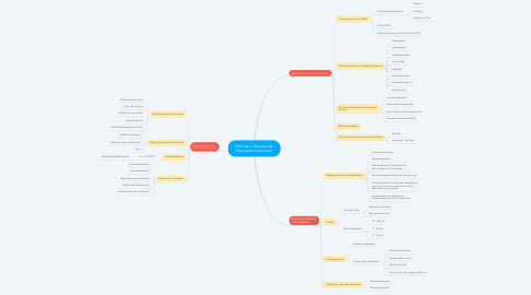 Mind Map: Normas e Manuais de Georreferenciamento
