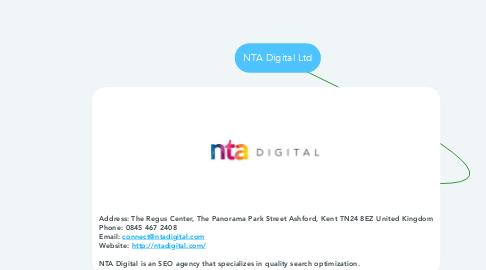 Mind Map: NTA Digital Ltd
