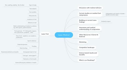 Mind Map: Lasso Medical