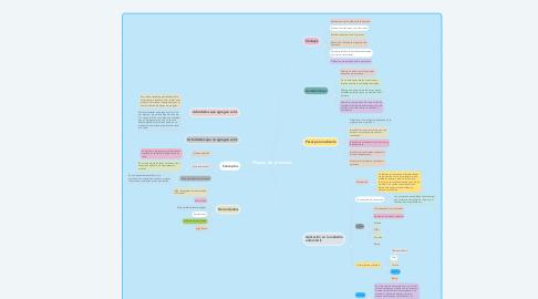 Mind Map: Mapeo de procesos