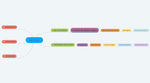 Mind Map: barco negro
