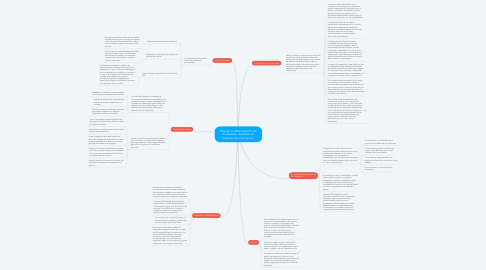 Mind Map: Mejorar la administración de la empresa, mediante los Sistemas de Información.